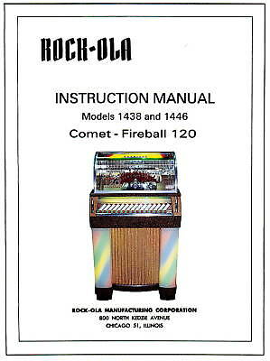 Rock-Ola Comet-Fireball  Service Manual