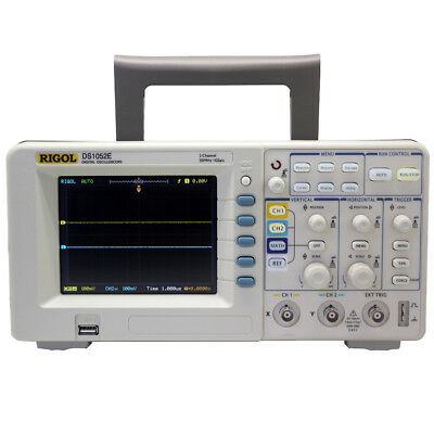 Rigol DS1052E 50MHz Digital Oscope with 2 Channels, USB Storage Access