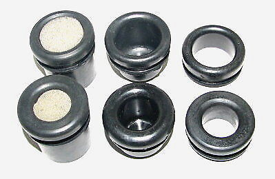 "Universal 1.25"" Valve Cover Rubber Grommet Kit A - Stamped Steel Style Covers"