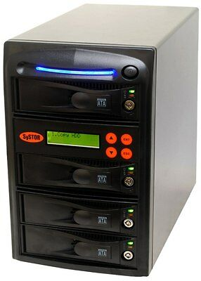 1-3 Sata Clone Hard Drive (HDD/SSD) Duplicator Systor Copy Station Eraser Copier