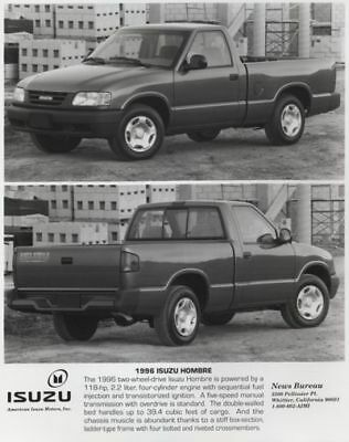 1996 Isuzu Hombre Pickup Press Photo and Press Release