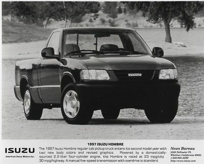 1997 Isuzu Hombre Pickup Press Photo and Press Release