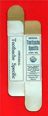 Universal Drug Toothache Specific Dental Box Chicago Il