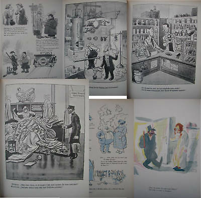 Neues Paul Gimmel Album Dessins Humour Allemagne Rare