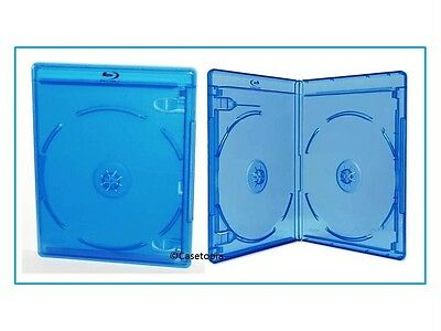 NEW! 5 VIVA ELITE Blu-ray Storage Cases - 3 Singles & 2 Doubles