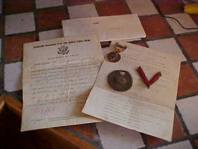 WW1 Named Grouping w/ Enlistment Record