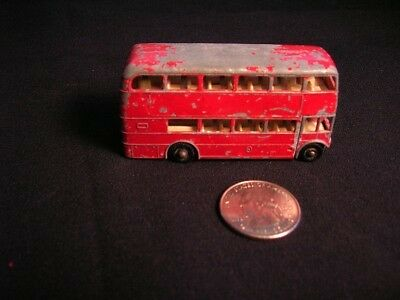 Vintage Matchbox Lesney Double Decker Bus