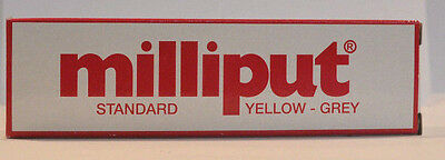 Milliput Yellow Grey Epoxy Putty 4oz 1st Class Post  Fits Through Your Letterbox
