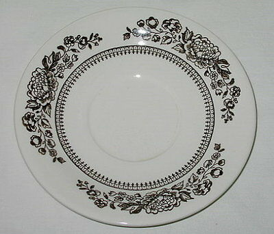 Royal China USA Sussex Pattern Saucer-c1980