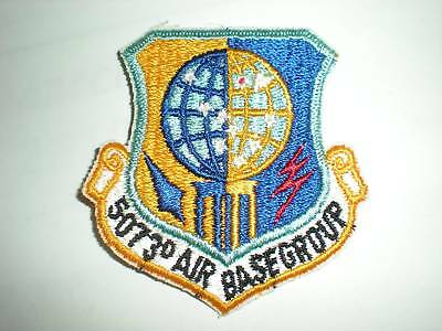 USAF 5073RD AIR BASE GROUP PATCH -COLOR