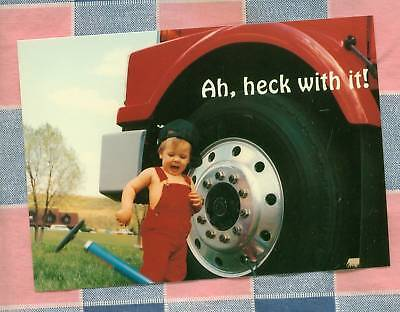 50 Postcards Little Lee Comic Trucking Ah heck with it!