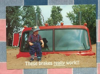 50 Postcards Little Lee Comic Trucking  These Brakes Really work