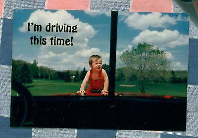 50 Postcards Little Lee Comic Trucking I'm driving this Time