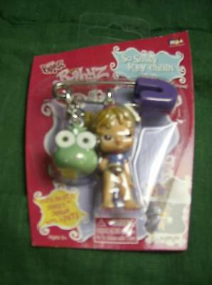 Bratz Babyz  With Pet Frog Key Chain/ Bag Clip