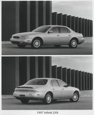 1997 Infiniti J30 Press Photo Kit and Sales Release