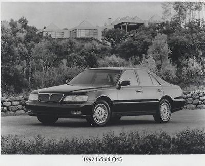1997 Infiniti Q45 Press Photo Kit and Sales Release