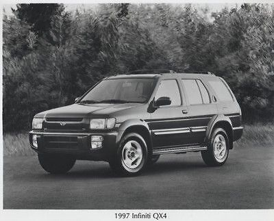1997 Infiniti QX4 Press Photo Kit and Sales Release