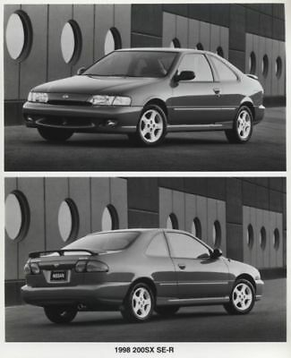 1998 Nissan 200SX SE-R Press Photo and Sales Release