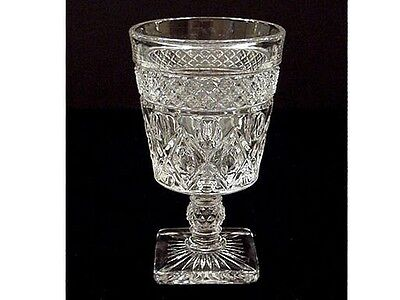 Imperial Glass Cape Cod CLARET WINE Footed Goblet  #1602