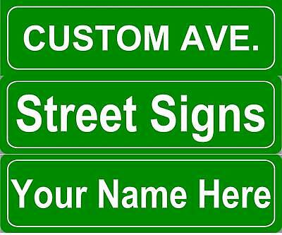 Personalized Street Signs >> Custom Personalized Street Sign Metal 5 X18 15 99 Picclick