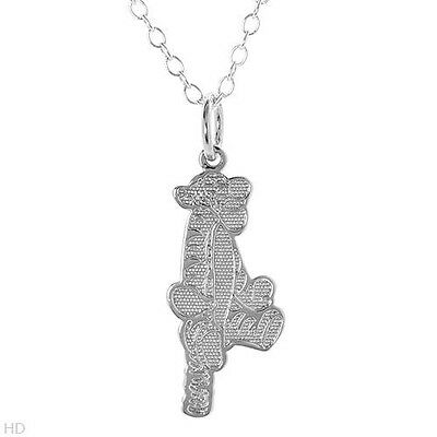 Disney Winnie the PoohTigger Necklace in 925 Sterling Silver