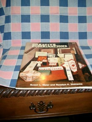 Creative Combinations Cross-Stitch Hardanger  Booklet