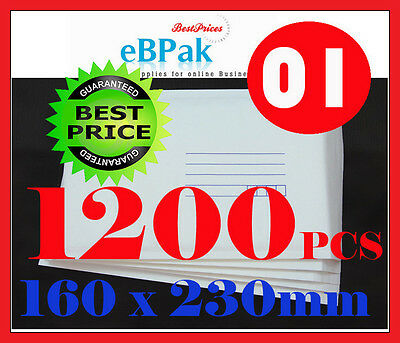 1200 Size #1 Bubble Padded Mailer Envelope 160x230mm