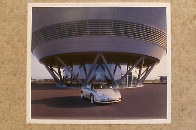 2003 Porsche 911 Carrera Cabriolet Showroom Advertising Poster RARE Awesome L@@K