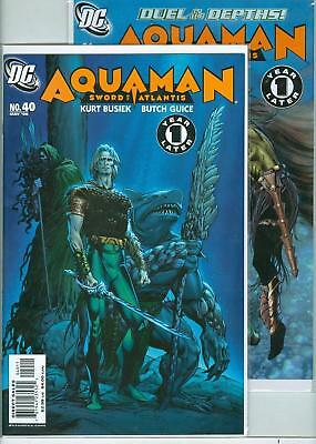 Aquaman lot #40-41 - 2006