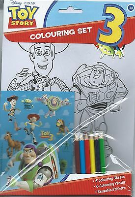 Toy Story 3 Colouring Set