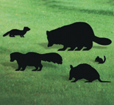 "**NEW** Handmade Wood Lawn Art Yard Shadow/Silhouette - Skunk 25"" x 9"""
