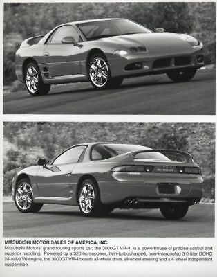 1998 Mitsubishi 3000GT Press Photo and Sales Release