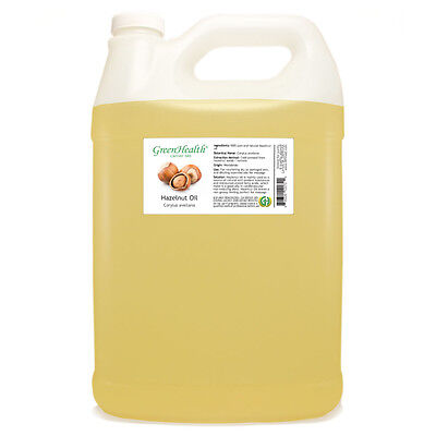 1 Gallon Hazelnut 100% PURE Oil- Organic Cold Pressed - GreenHealth