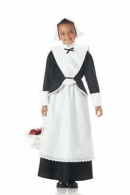 Colonial Pilgrim Girl Thanksgiving Child Costume