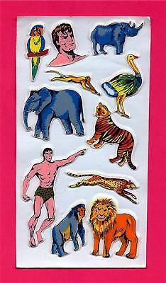 Tarzan of the Jungle Super Hero Puffy Sticker Sheet #3