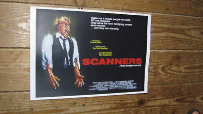 Scanners Great New Repro Advertising POSTER