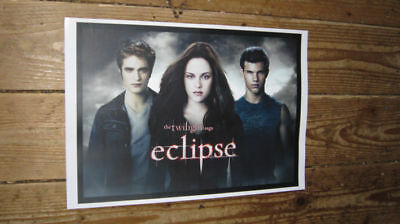 Twilight Eclipse Cast Repro Advertising POSTER