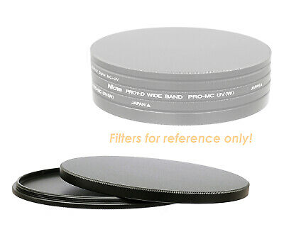 "Metal Screw-in Stack Cap 72mm UV CPL ND IR Filter case ""US Seller"""