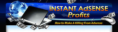 Instant Adsense Profits ebook+Audio+Videos on CD