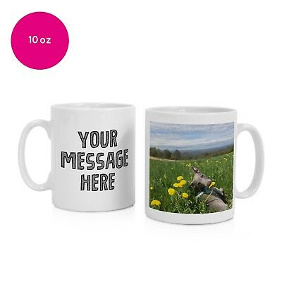 Personalised Photo Mug Cup Gift Gifts Your Message Printed Birthday Christmas