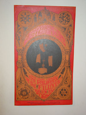 Jefferson Airplane/The Paupers- 1967 POSTER