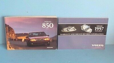 97 1997 Volvo 850 owners manual