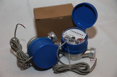 Electrical impulse water meter - flow, cold water (new)