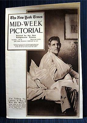 1915 NY Times 02-18 Mid Week War Pictorial WWI Magazine