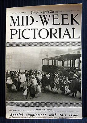1915 NY Times 11-18 Mid Week War Pictorial WWI Magazine