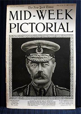 1915 NY Times 12-02 Mid Week War Pictorial WWI Magazine