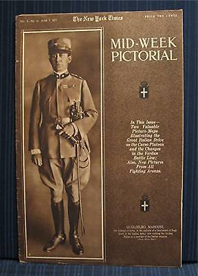 1917 NY Times 06-07 Mid Week War Pictorial WWI Magazine