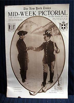 1915 NY Times 05-27 Mid Week War Pictorial WWI Magazine