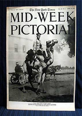 1916 NY Times 04-13 Mid Week War Pictorial WWI Magazine