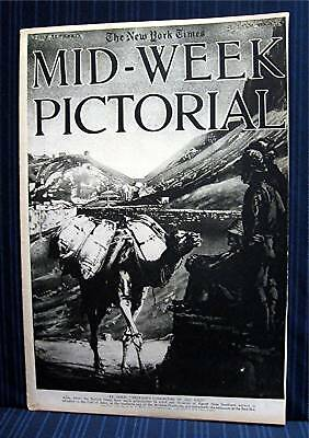 1916 NY Times 02-24 Mid Week War Pictorial WWI Magazine